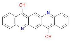 Pigment-violet-19-moleculara-structura